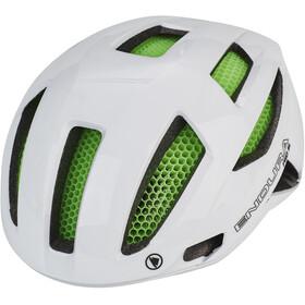 Endura Pro SL Casco con Koroyd, bianco/verde